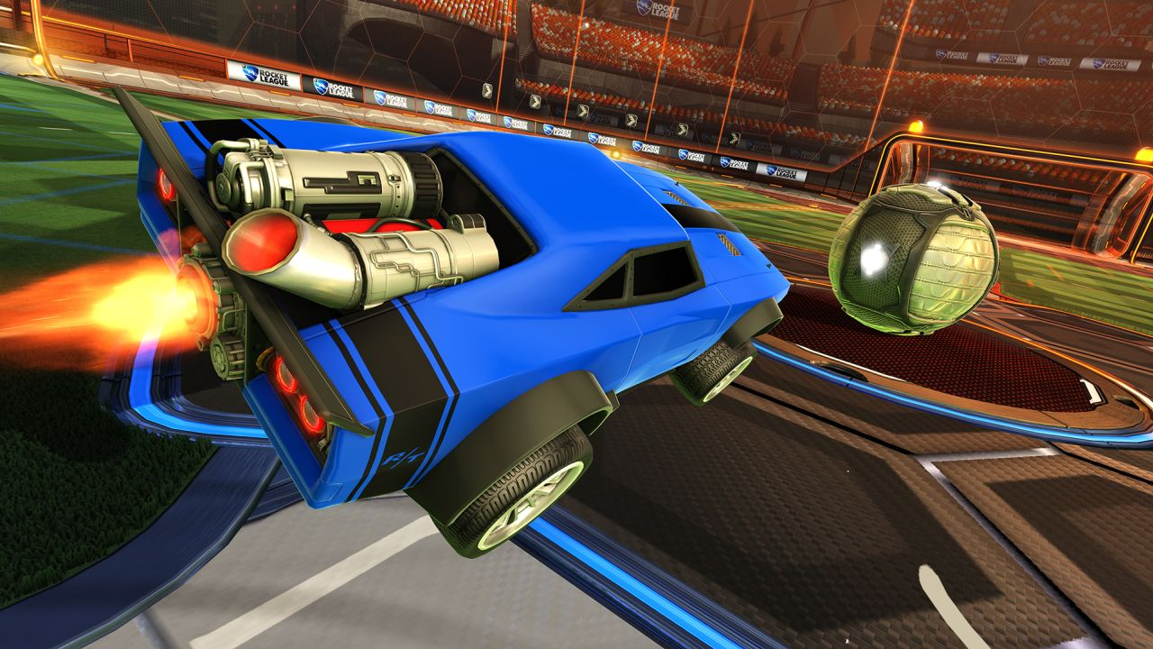 Dodge Ice Charger >> Fate of the Furious premium DLC for Rocket League lets you drive Dom's souped up Dodge Charger ...