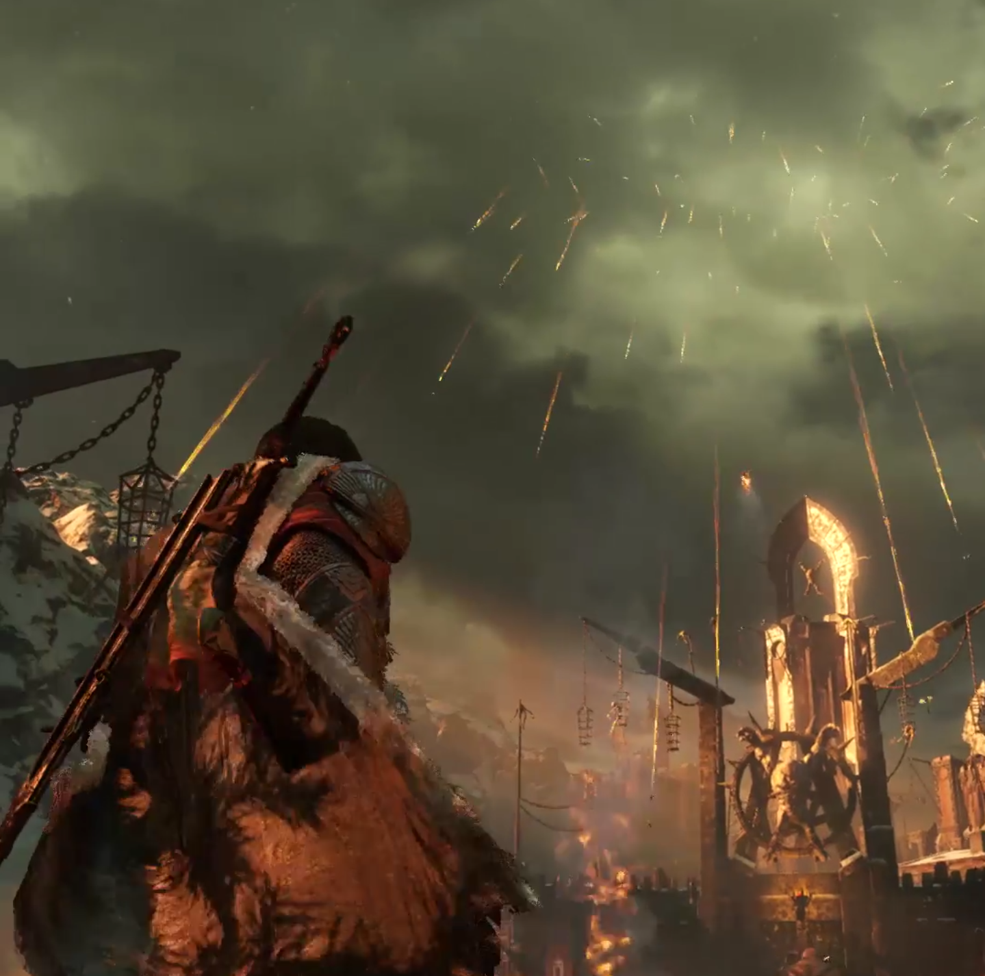 War: Middle Earth: Shadow Of War Leaked Trailer Images Look
