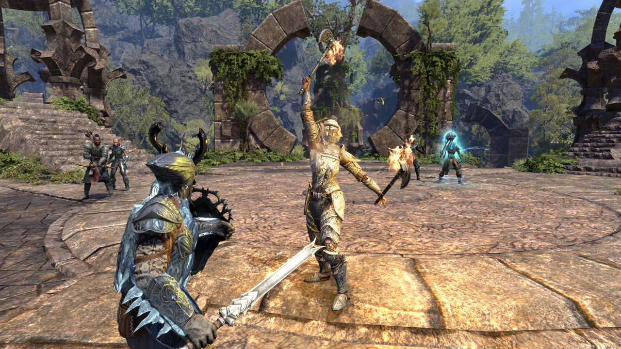 What is the release date for elder scrolls online