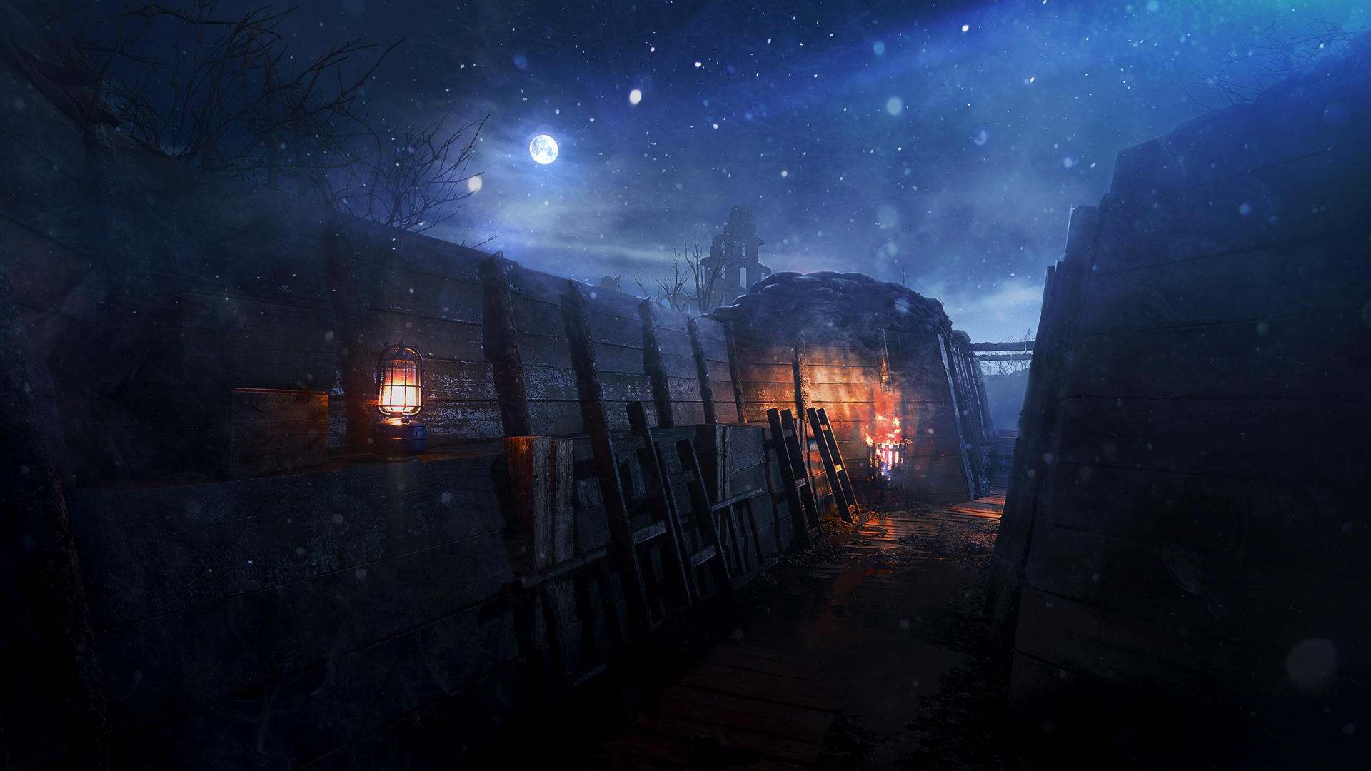 New Battlefield 1 Map Nivelle Nights Revealed, Out This