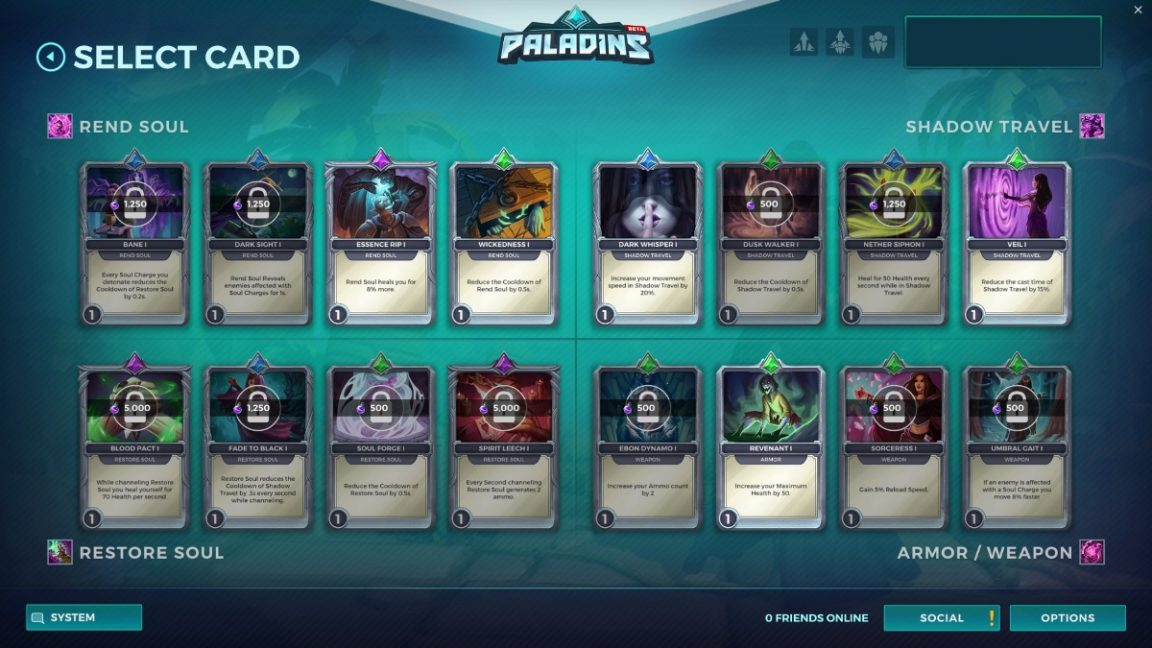 How To Craft Cards In Paladins