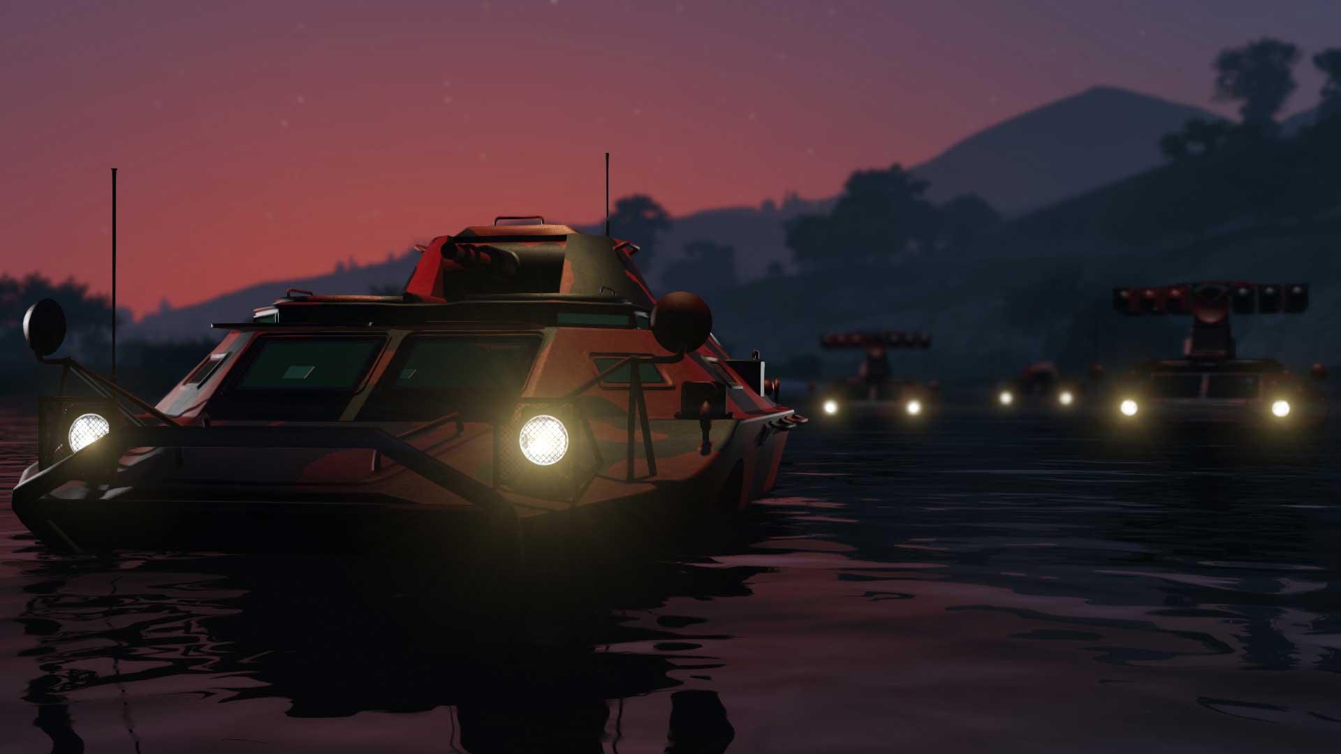 GTA Online's Massive Gunrunning Update Adds A Personal Bunker APC