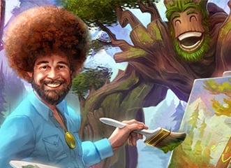 Bob Ross Added As A Playable Character In Smite With Sylvanus New Skin Vg247