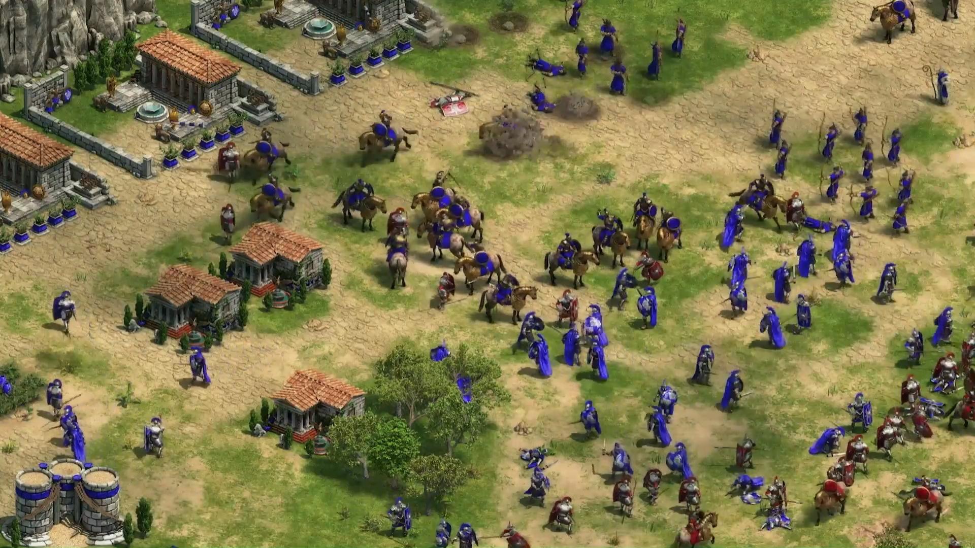 Многопользовательская игра Age of Empires II в …