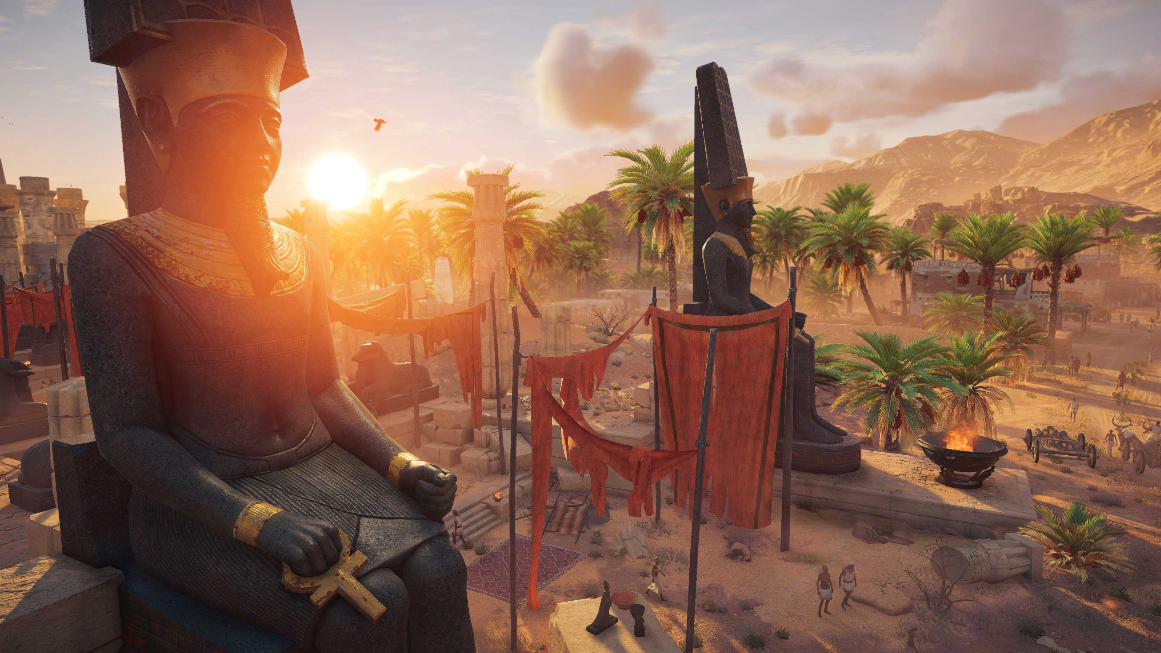 Игра Assassins Creed Origins получила в целом положительные отзывы в игровой прессе с отдельными