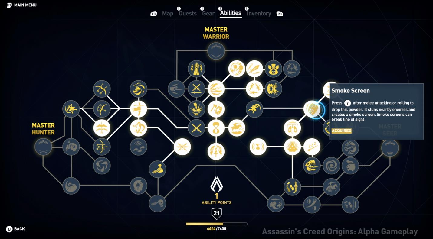 E3 2017: see the full skill tree in Assassin's Creed ...