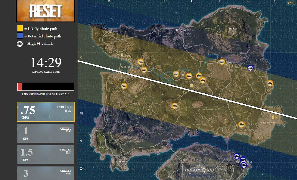 Playerunknown S Battlegrounds Erangel Maps Loot Maps: Never Worry About The Plane Flight Path Again With This