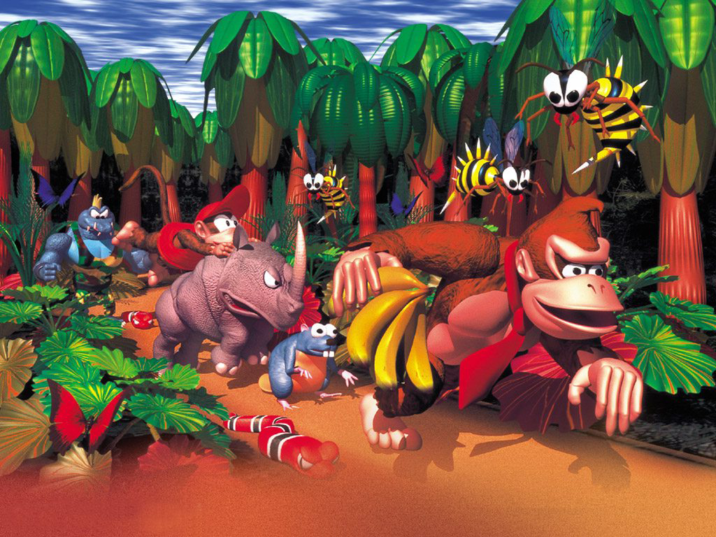 Donkey Kong Country All the Nintendo SNES ...