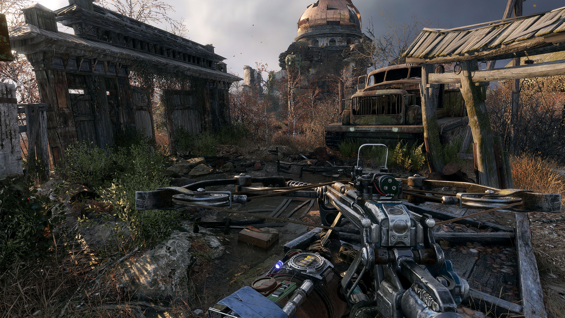 metro exodus shown running on xbox one x at e3 2017 also coming to pc ps4 in 2018 vg247. Black Bedroom Furniture Sets. Home Design Ideas