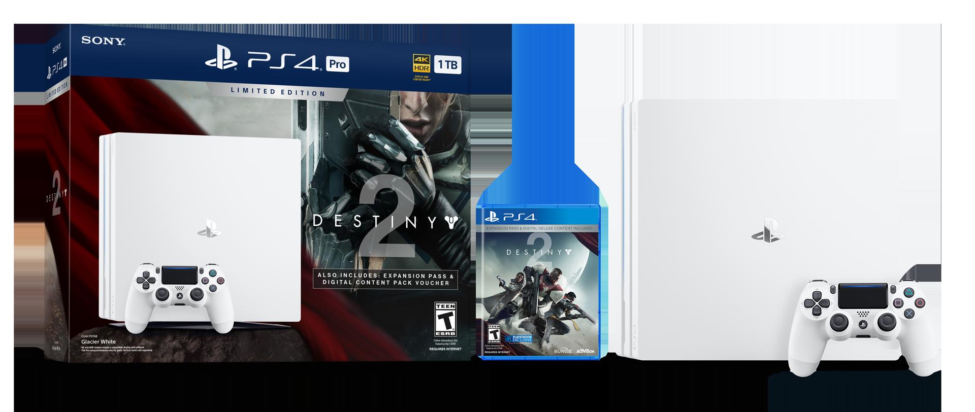 Destiny 2 gets limited edition Glacier White PS4 Pro ...