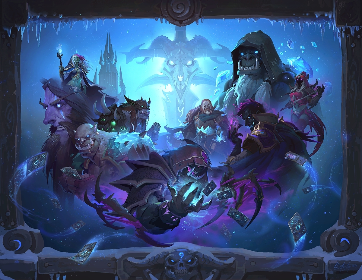 Knights Of The Frozen Throne Wallpaper: Hearthstone's Next Expansion Is Knights Of The Frozen