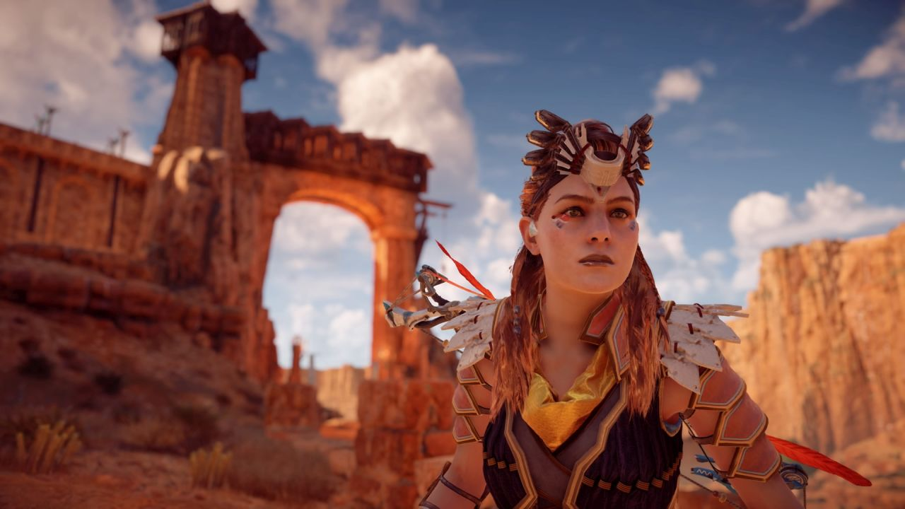 Horizon Zero Dawn All Face Paint