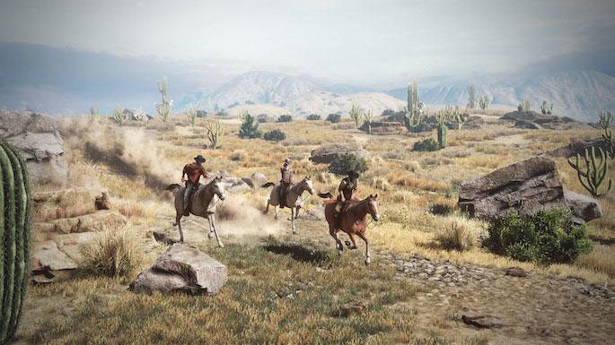 Wild Wild West Online