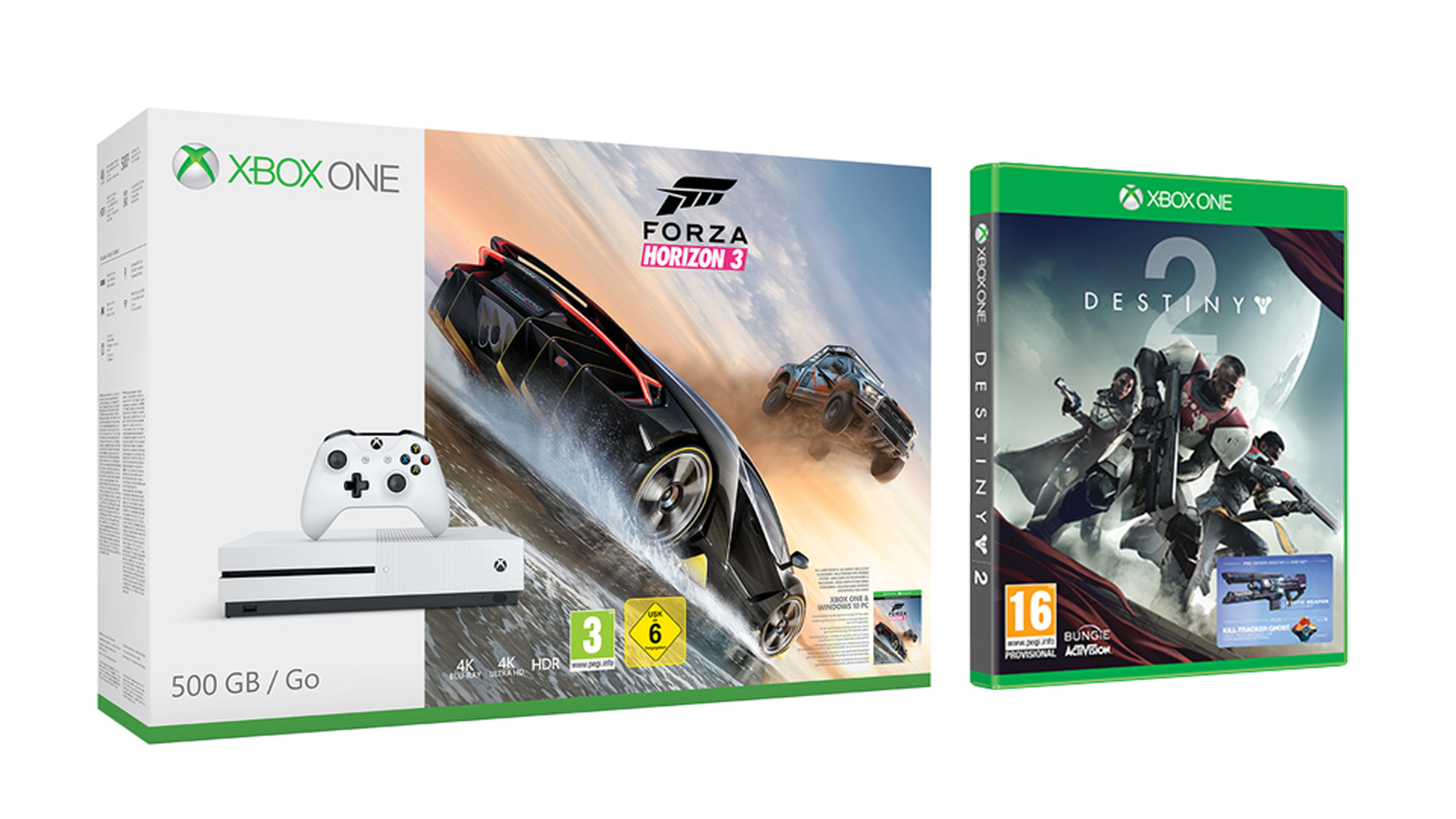 get an xbox one s with destiny 2 and up to 3 other games. Black Bedroom Furniture Sets. Home Design Ideas