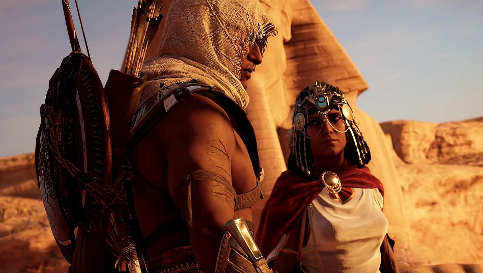 Assassin S Creed Origins And Cats