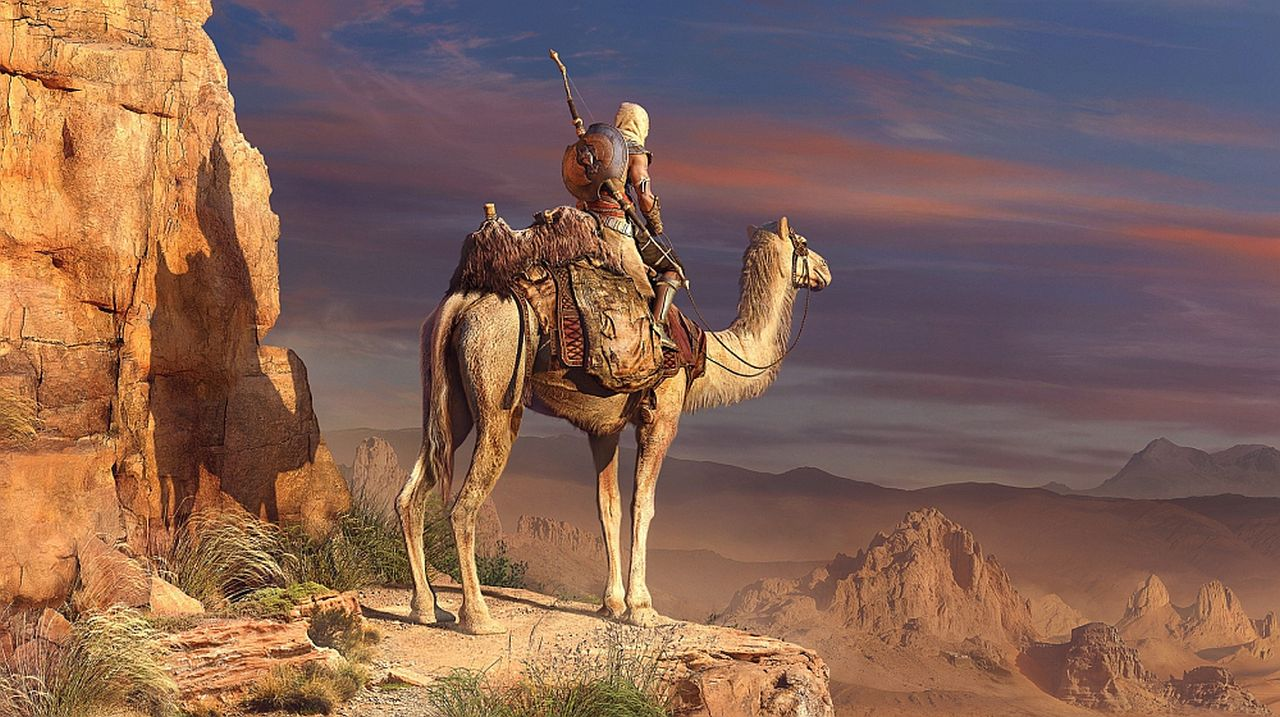 Assassin's Creed Origins looks lovely and rather cinematic ...