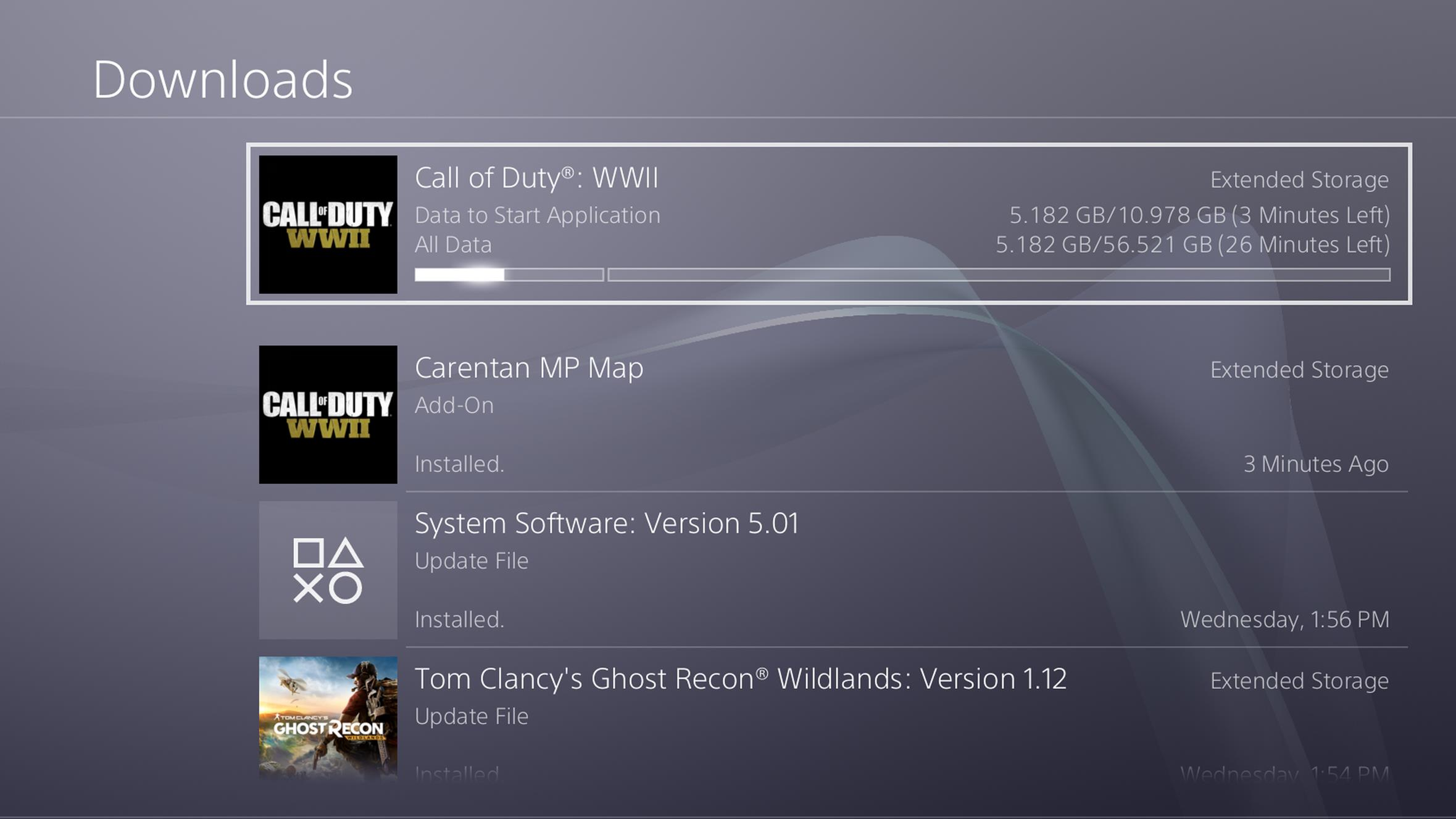 Call Of Duty Wwii Download Size For Pc And Playstation 4 Revealed Pre Load Now Available Gamezone