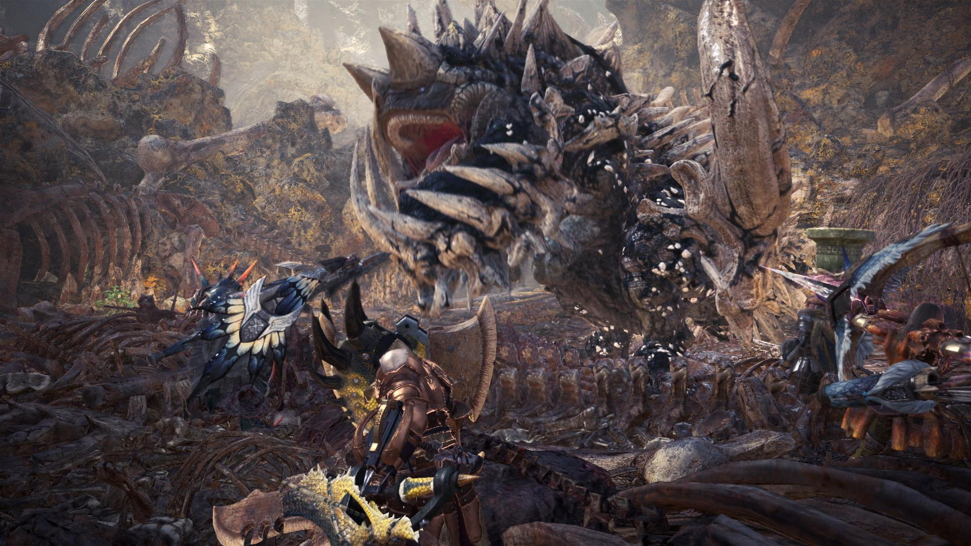 Monster Hunter World Features All Sorts Of Unlockable Weapons Even At Low Rank - Vg247-5273