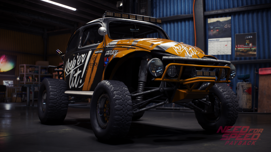Volkswagen chassis need for speed payback
