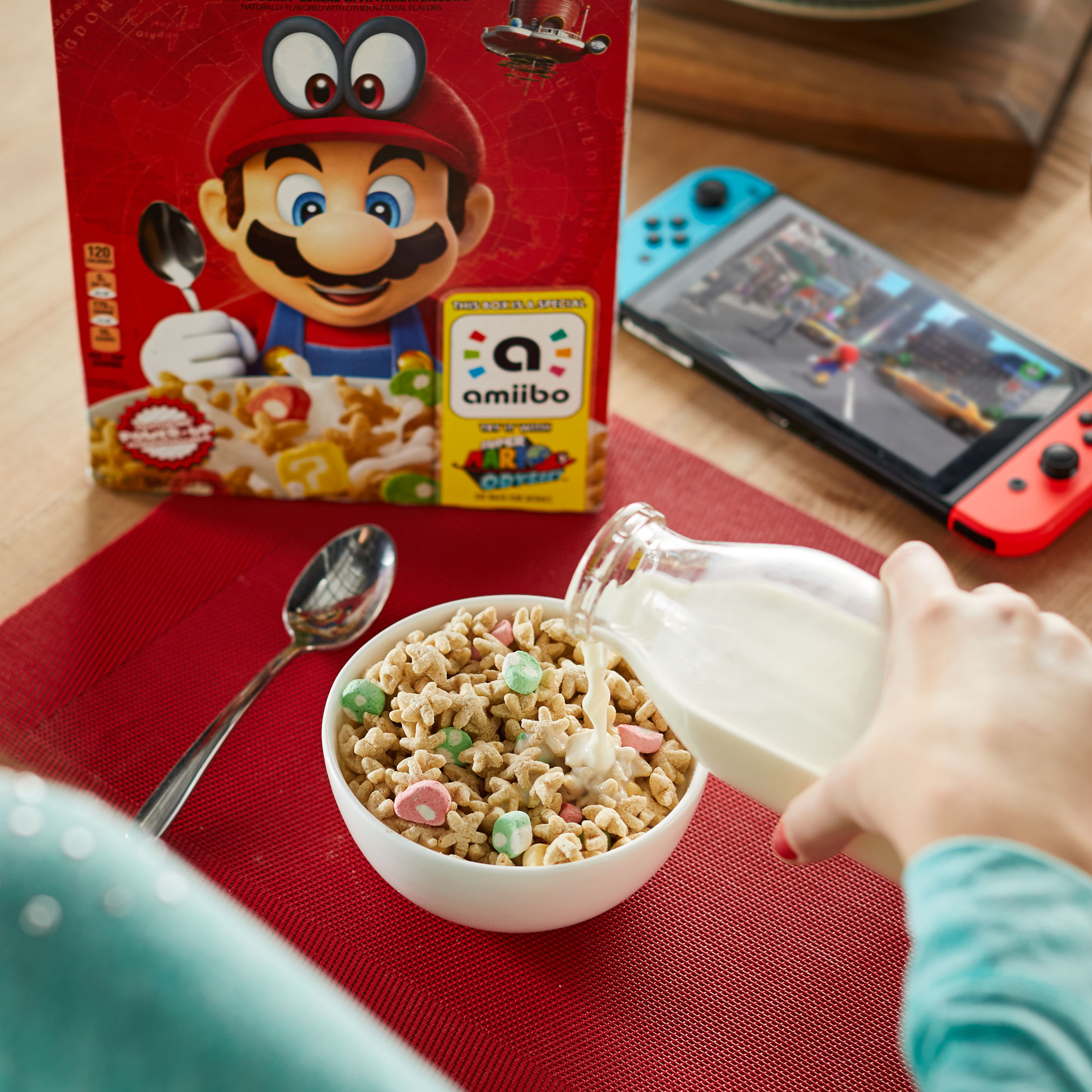 Yes, Super Mario Cereal Is A Thing And The Box Functions