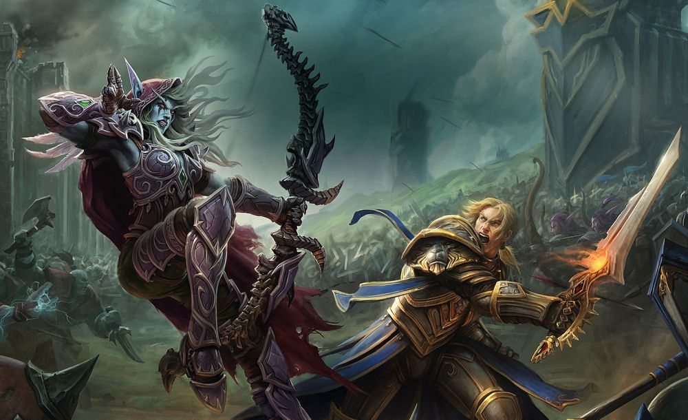 World Of Warcraft Wallpaper Bfa: World Of Warcraft's Next Expansion Is Battle For Azeroth