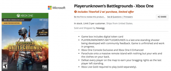 Best Playerunknown S Battlegrounds Communities On Reddit: Pick Up PUBG On Xbox One Today, Get Titanfall 2 Free