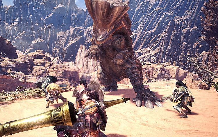 Monster hunter world third beta start time content for Decorations monster hunter world