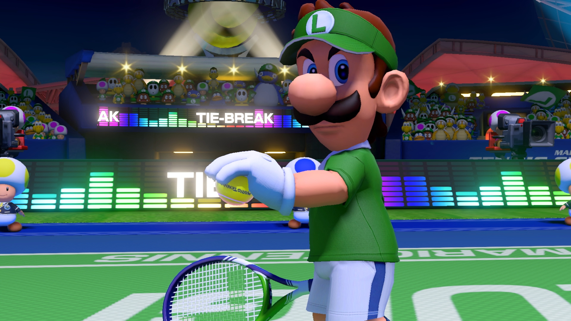 Mario Tennis Aces arrives on Switch this spring
