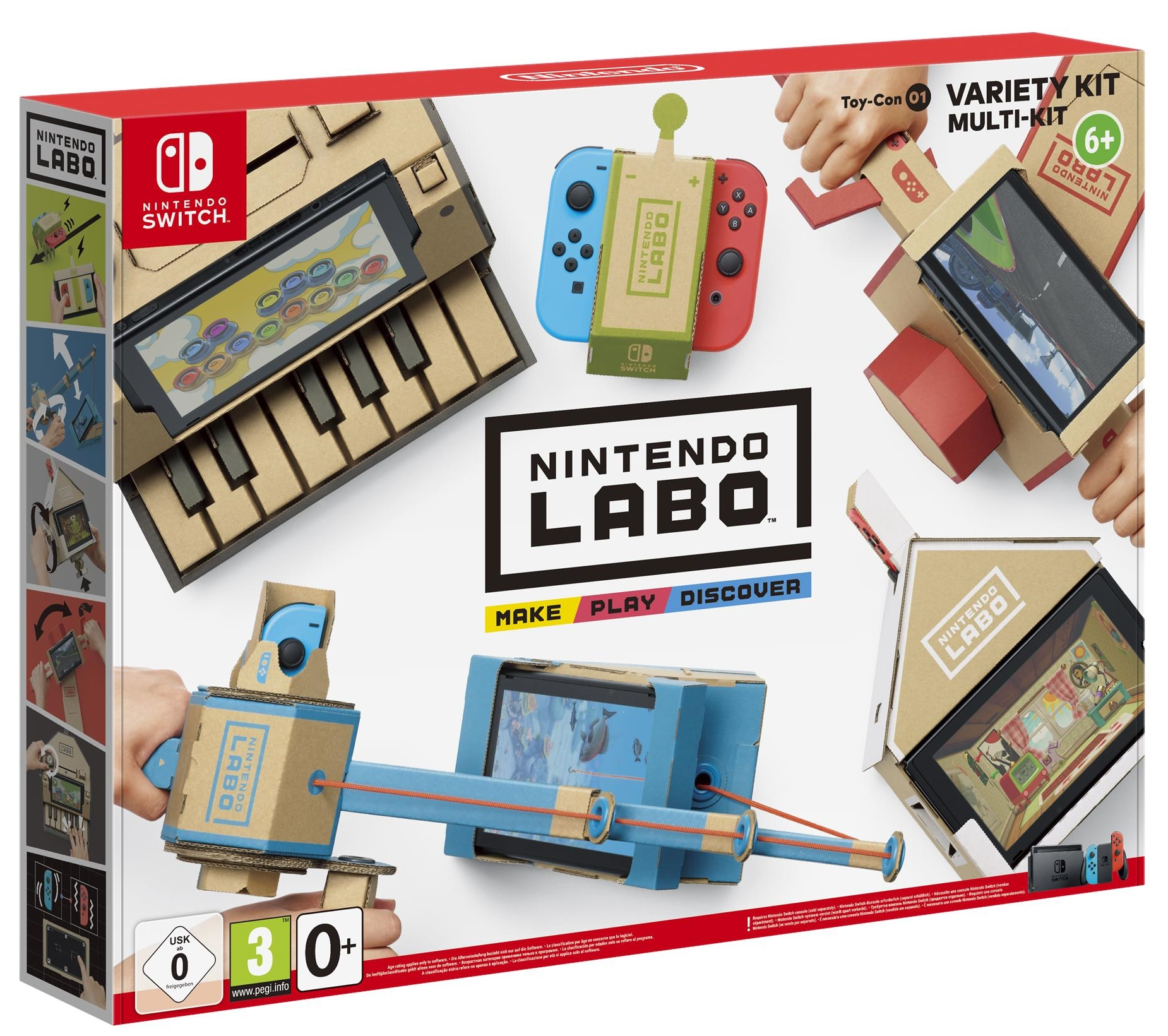 Nintendo Labo Is A Diy Cardboard Toy Line For Switch