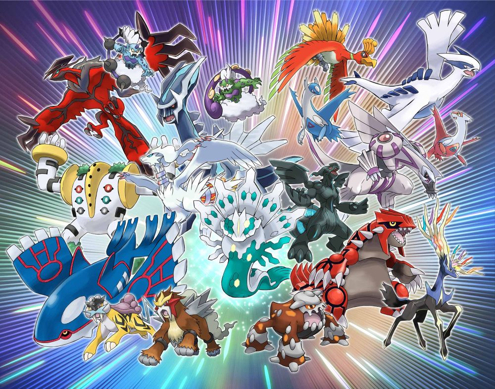 Pokemon Sun And Moon Legendary Pokemon Will Be -5356
