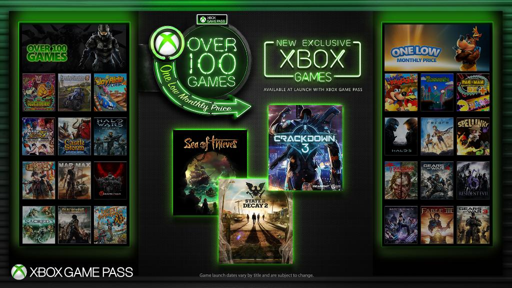 Xbox Game Pass Library | Xbox