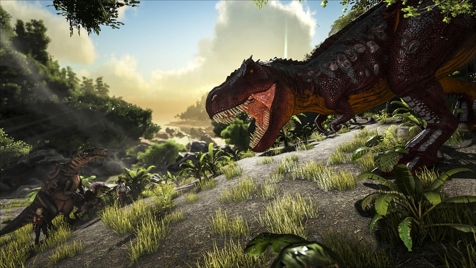 Ark Survival Evolved Update Gives Beasts A Visual