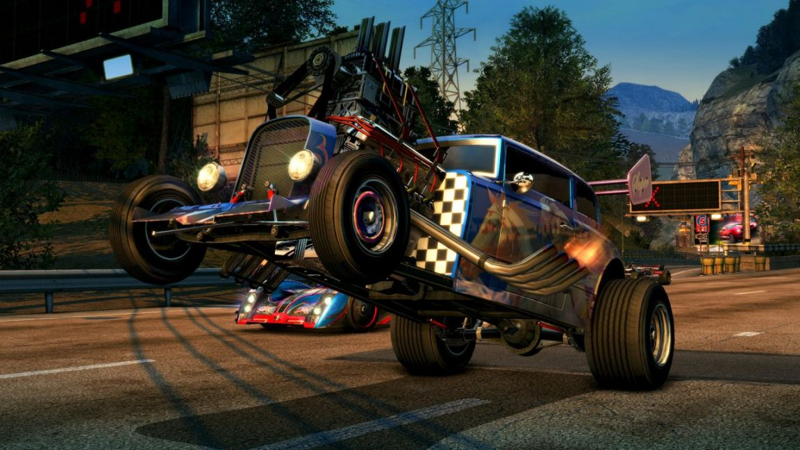 burnout paradise remastered announced for a march release vg247. Black Bedroom Furniture Sets. Home Design Ideas