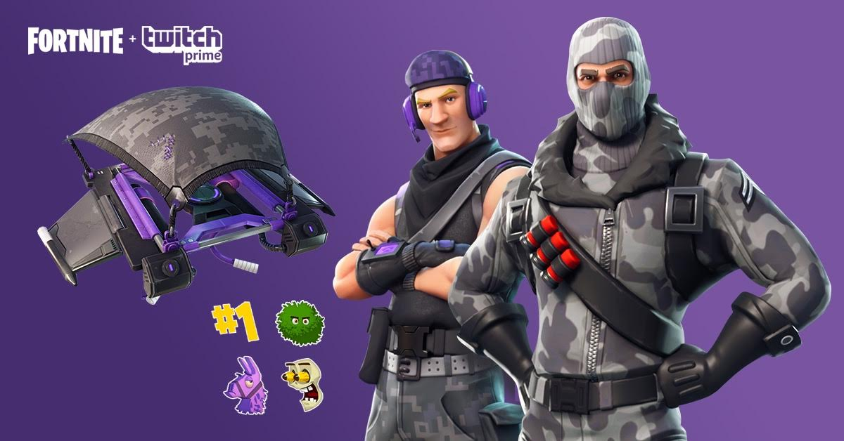 Fortnite gets exclusive Twitch Prime pack: Havoc and Sub ...