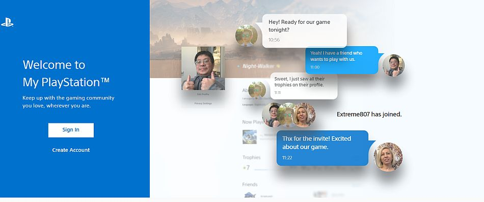 My Playstation Gives Users Web Access To Their Psn Profile