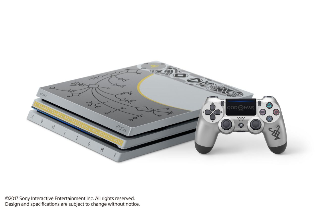 there 39 s a limited edition god of war ps4 pro bundle on the. Black Bedroom Furniture Sets. Home Design Ideas