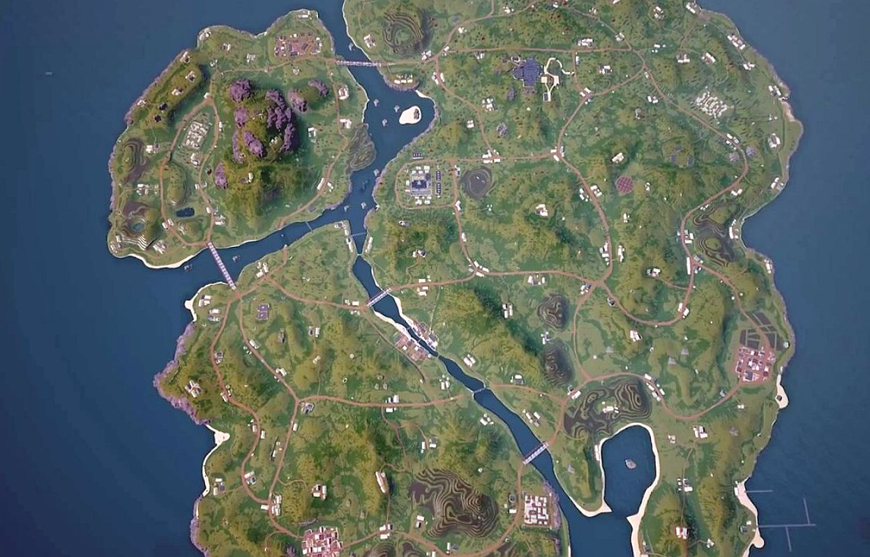 Playerunknown S Battlegrounds Maps Loot Maps Pictures: Here's A Quick Tease Of The New 4x4km Map Coming To PUBG