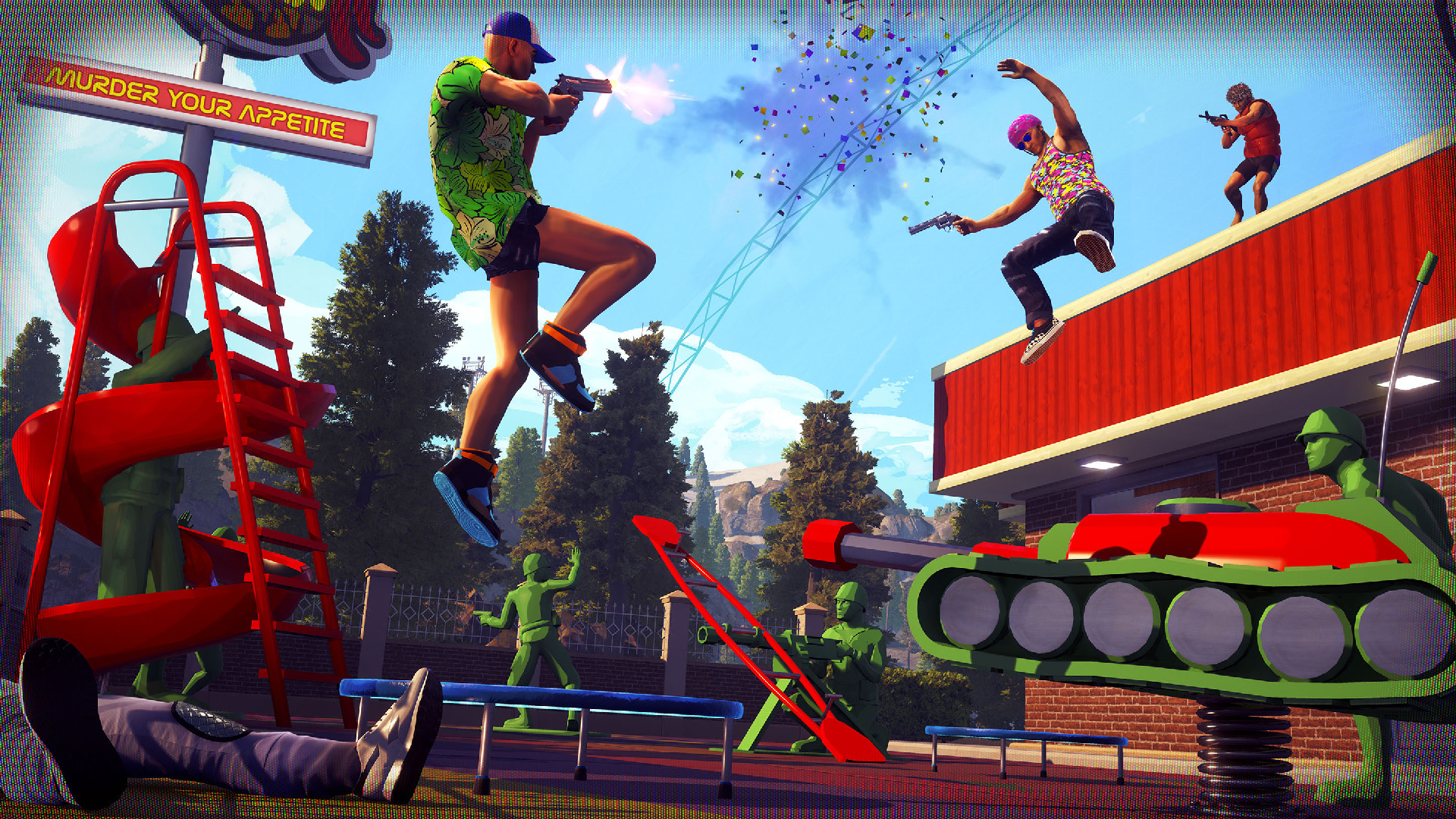 Radical Heights won't have female characters at launch - VG247