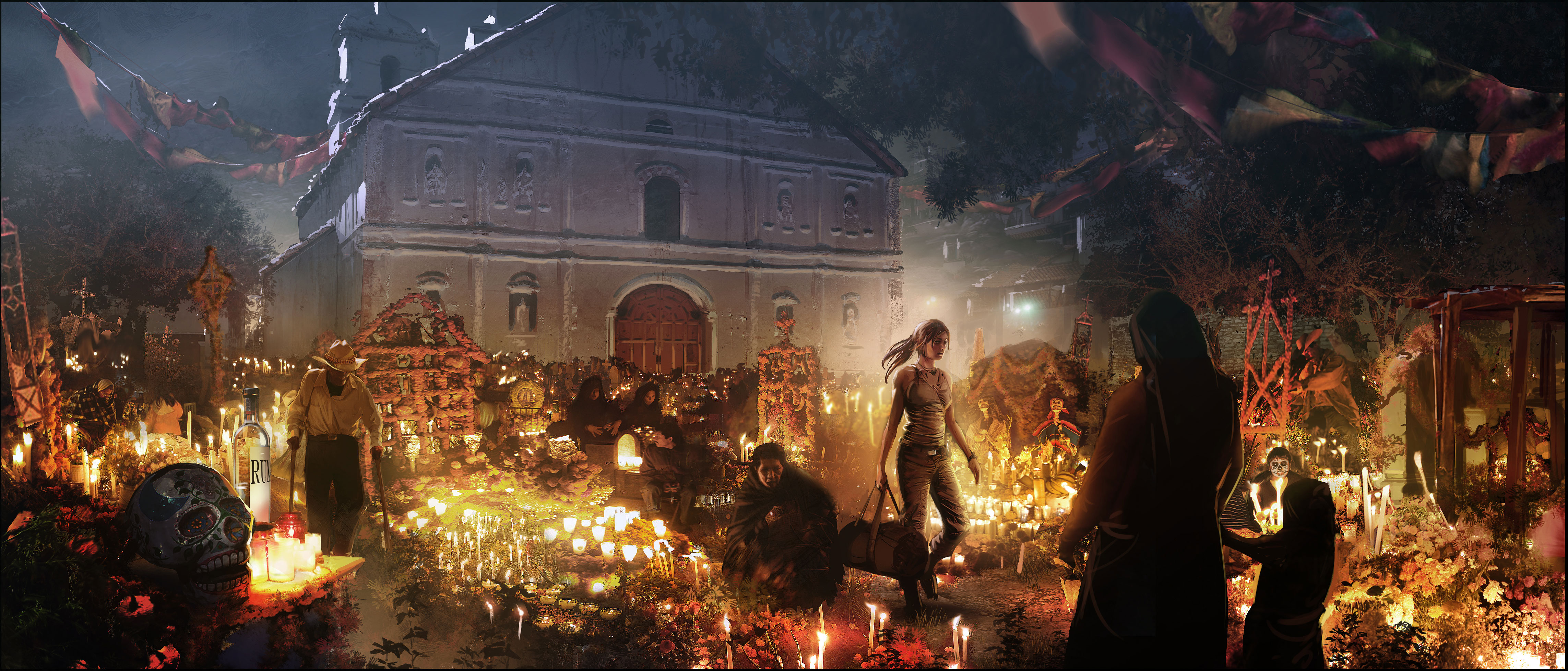 Shadow Of The Tomb Raider Concept Art: Shadow Of The Tomb Raider Pre-orders Get Early Access