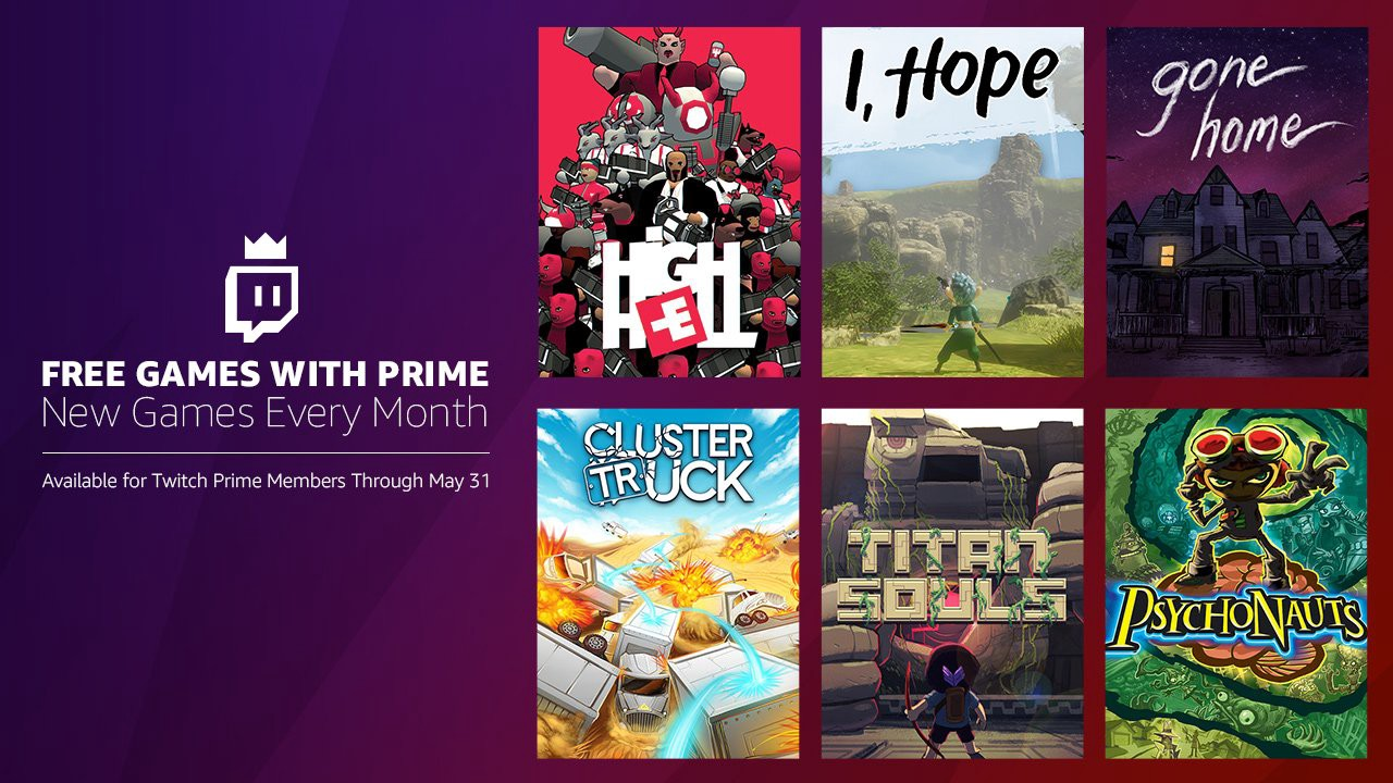 Twitch Prime free games for May: Gone Home, Psychonauts, more