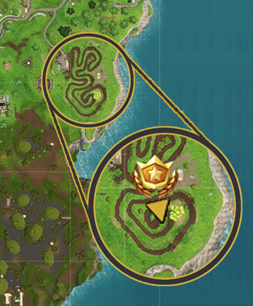 Fortnite Salty Springs Treasure Map Location Vg247