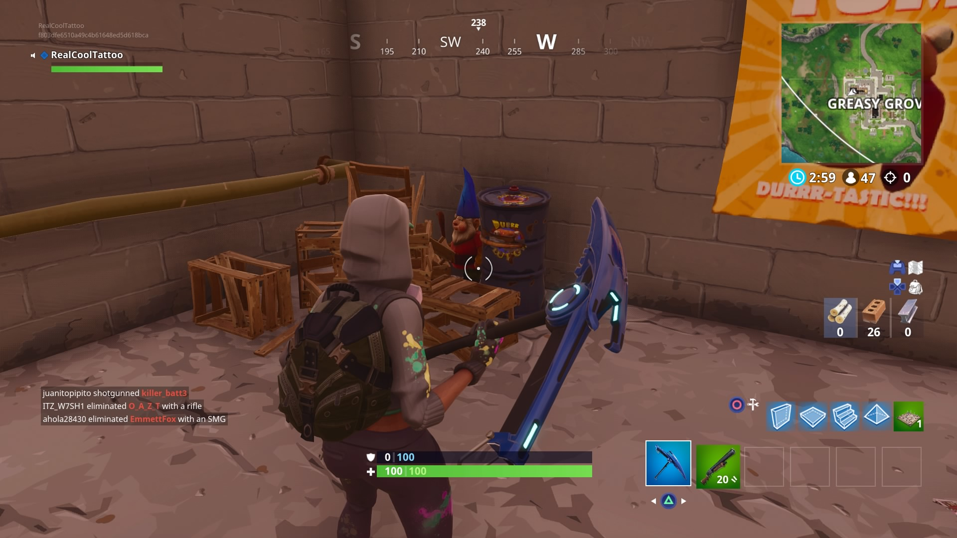 how to find coal in fortnite