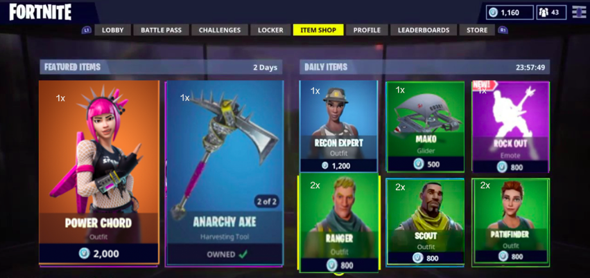 Power Cord Fortnite Skin : These are the rarest skins and items in fortnite vg
