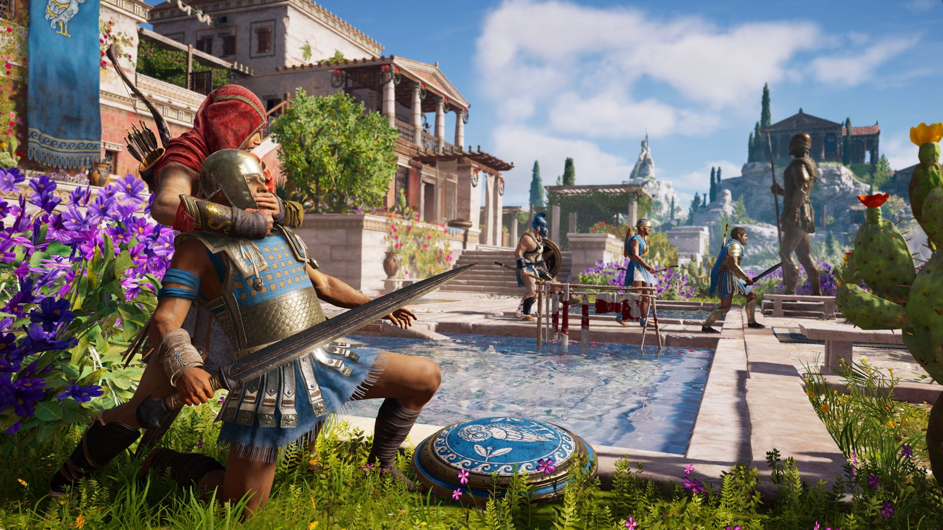 Assassin S Creed Odyssey Blends Bioware Style Choice With Metal Gear Solid 5 Base Management Vg247