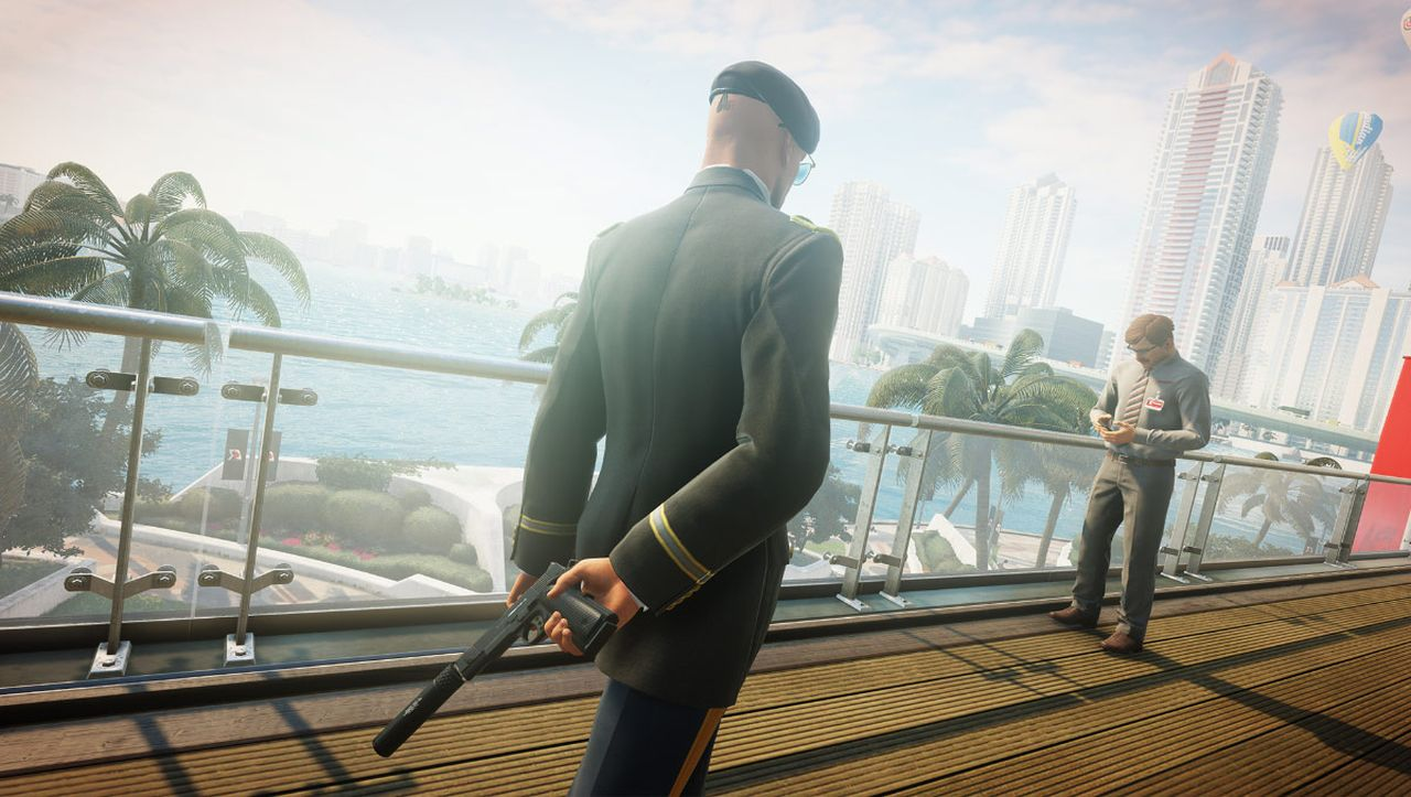 2 Way Light Switch >> Hitman 2 shows you a grid on the floor where security cameras are looking - VG247