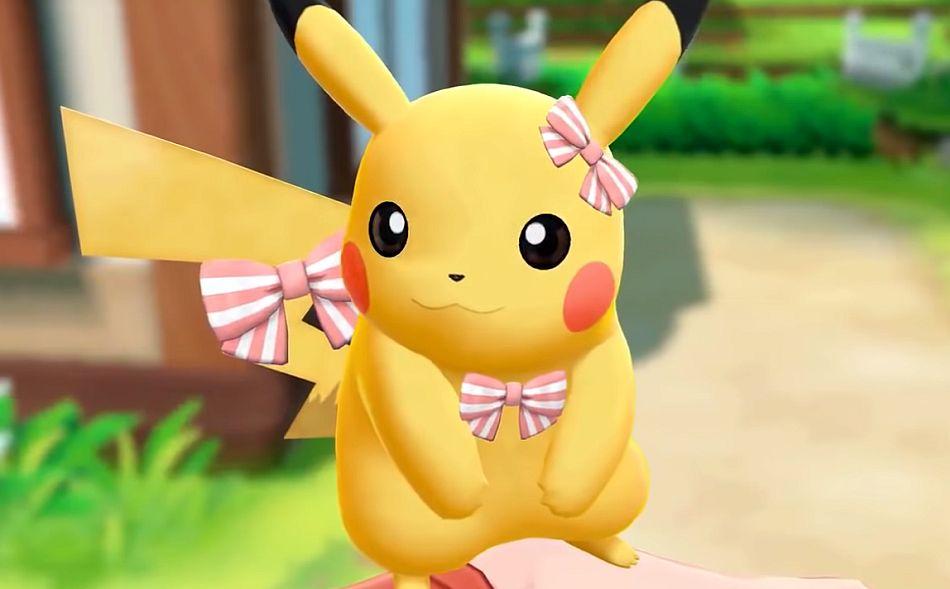 Pokemon Lets Go Spielhalle