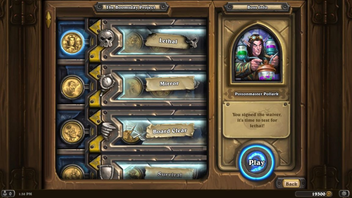 Hearthstone The Boomsday Project Releases Next Month