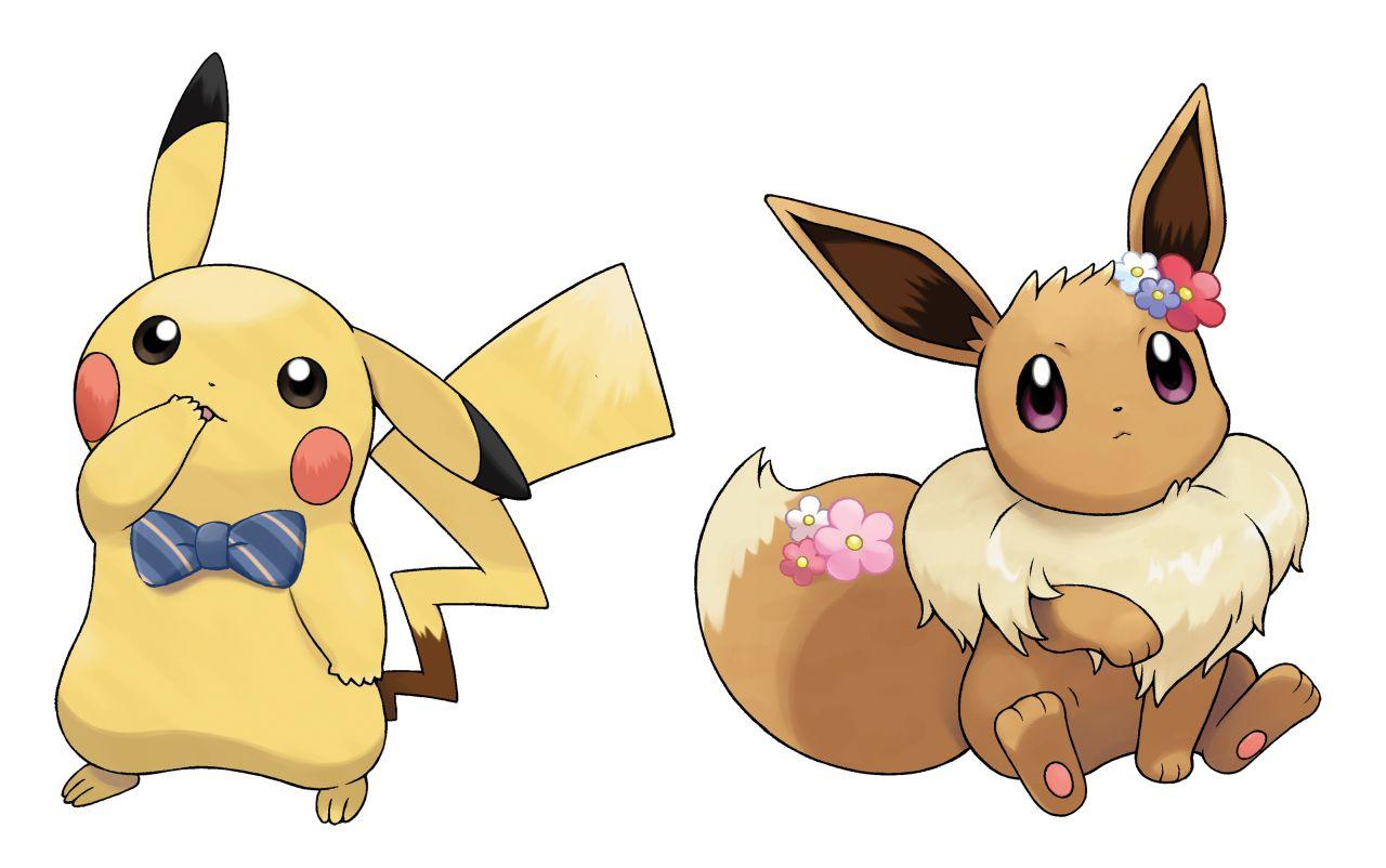 Pokemon: Let's Go, Pikachu and Eevee - exclusive Pokemon ...  Pokemon: Let...