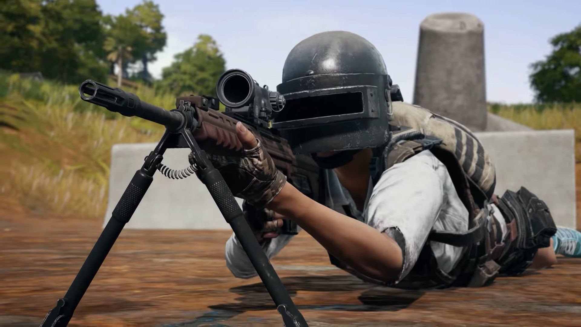 Pubg Scope Wallpaper: PUBG's Sanhok Map Is Getting A New DMR And A New Vehicle