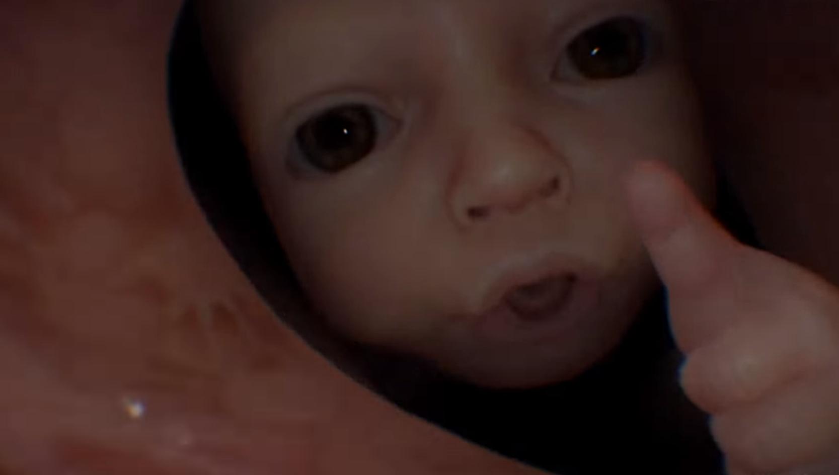 whats deal death strandings throat babies vg